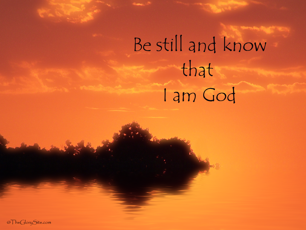 Christian Quote Be Still Wallpaper   Christian Wallpapers and 1024x769