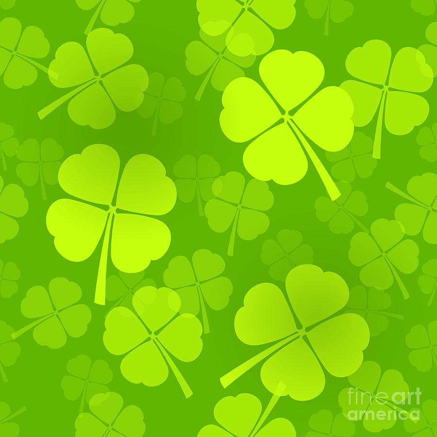 Clover Pattern Background Four leaf clover pattern 900x900