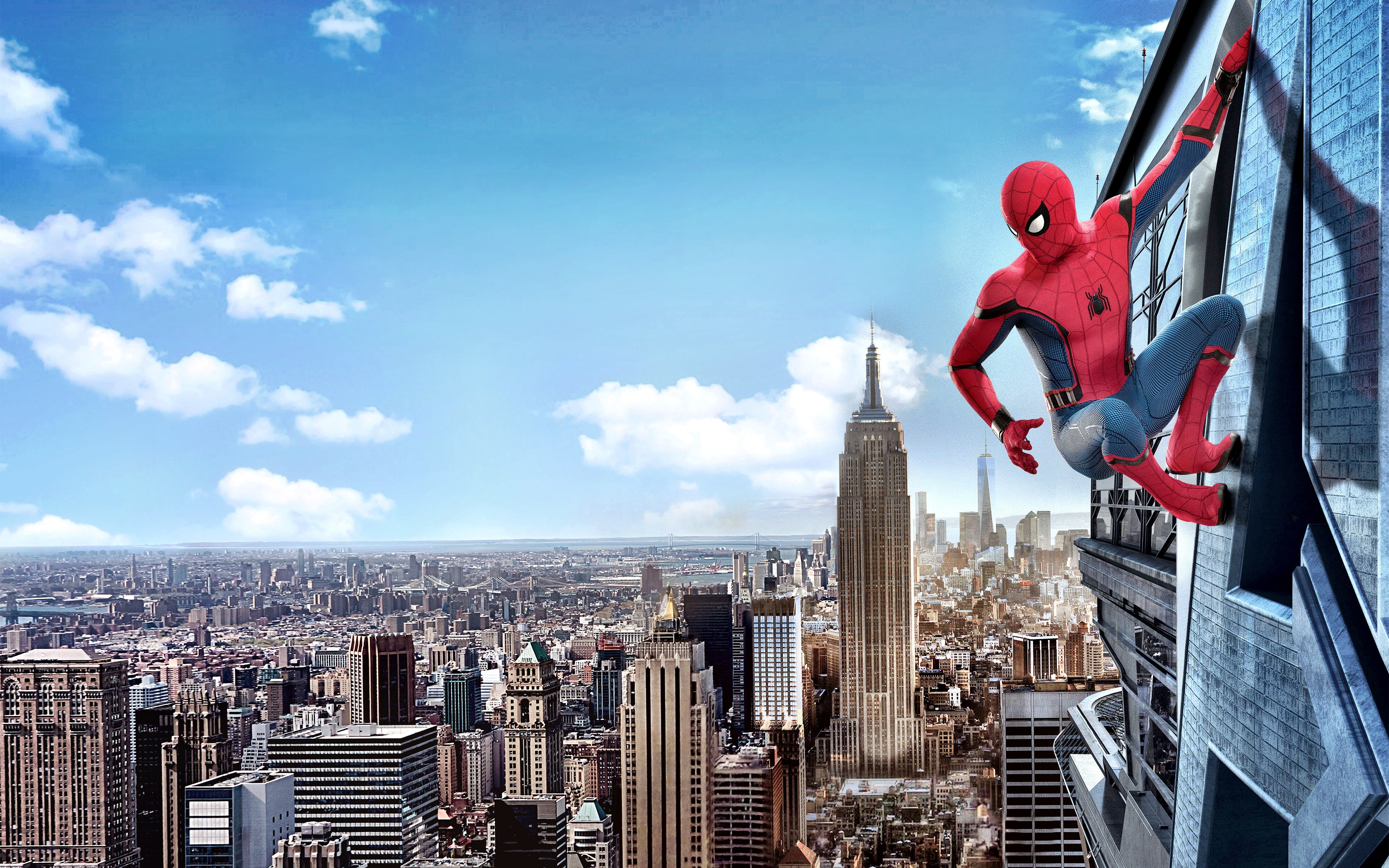 Wallpapers Spider Man Homecoming New York City Heroes 3840x2400 3840x2400