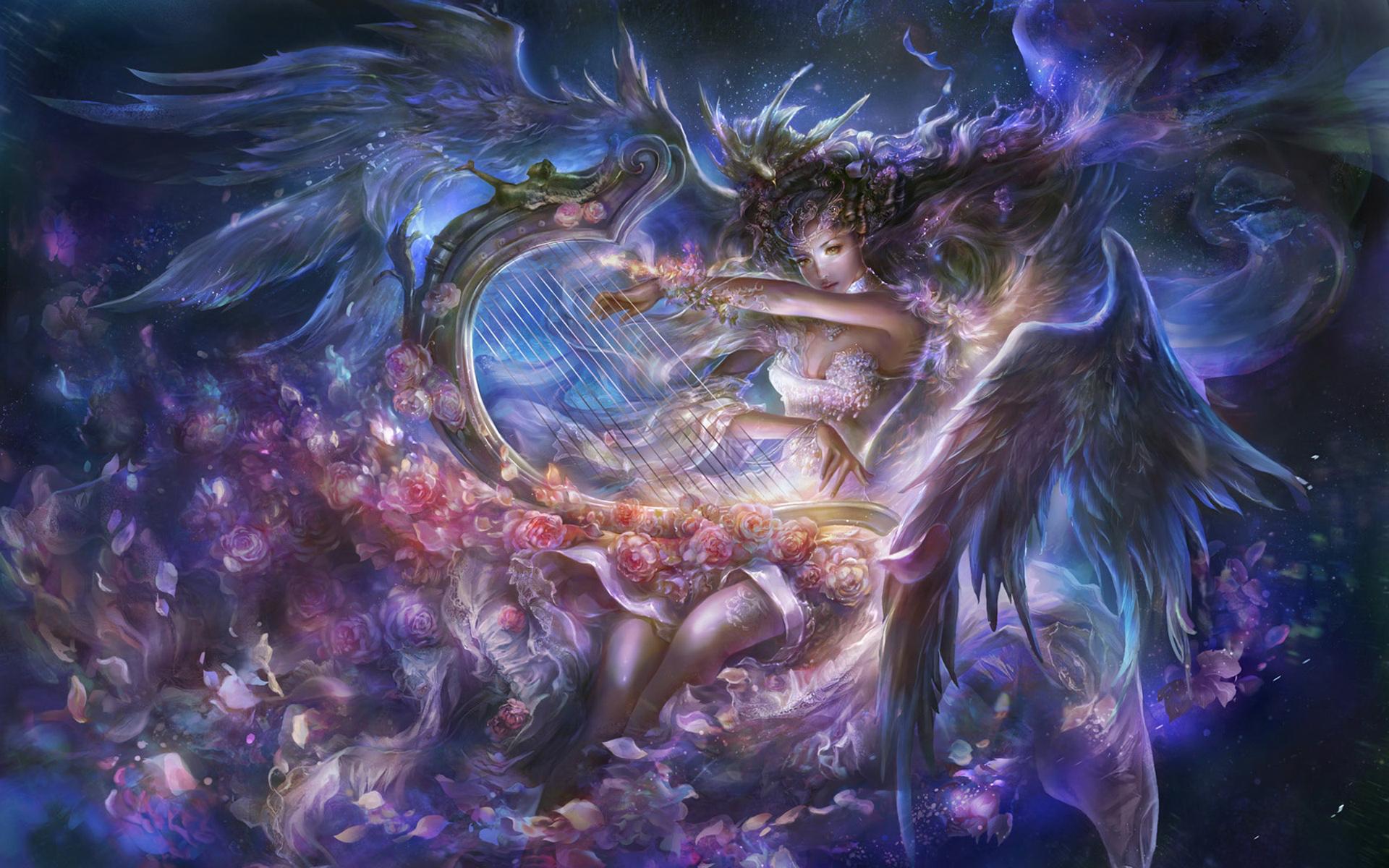 Angels Harp HD Wallpaper Background Image 1920x1200 ID 1920x1200