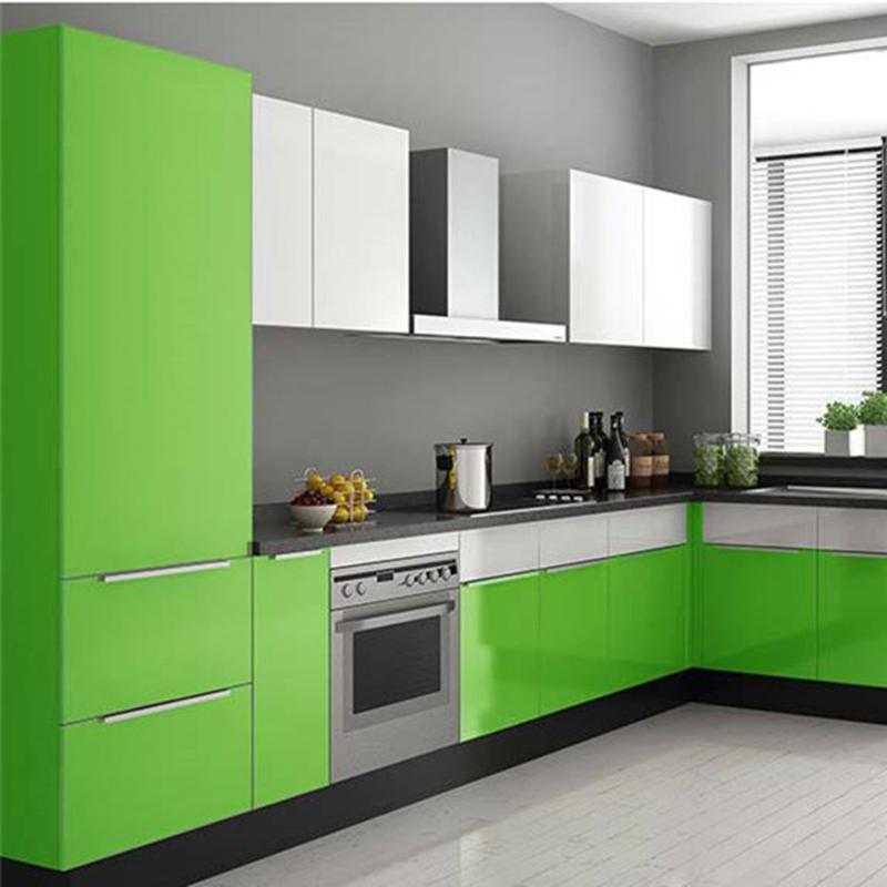 Waterproof PVC Vinyl Solid Color Green Self Adhesive Wallpaper 800x800