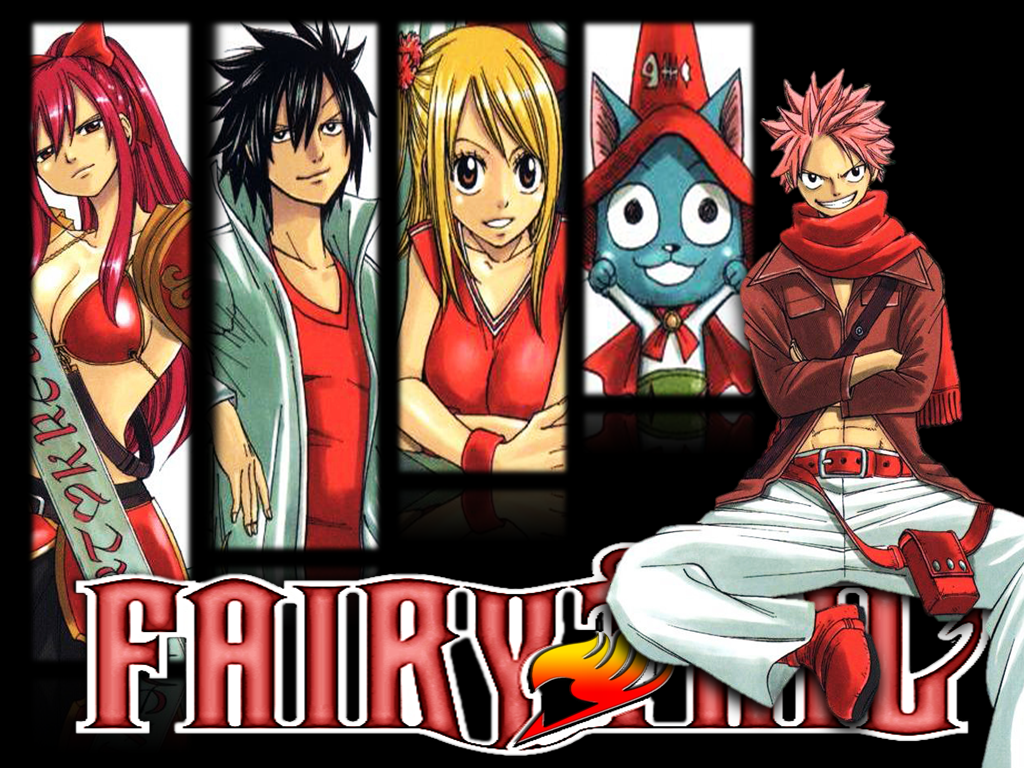 FAIRY TAIL Wallpaper by TigerCubby 1024x768