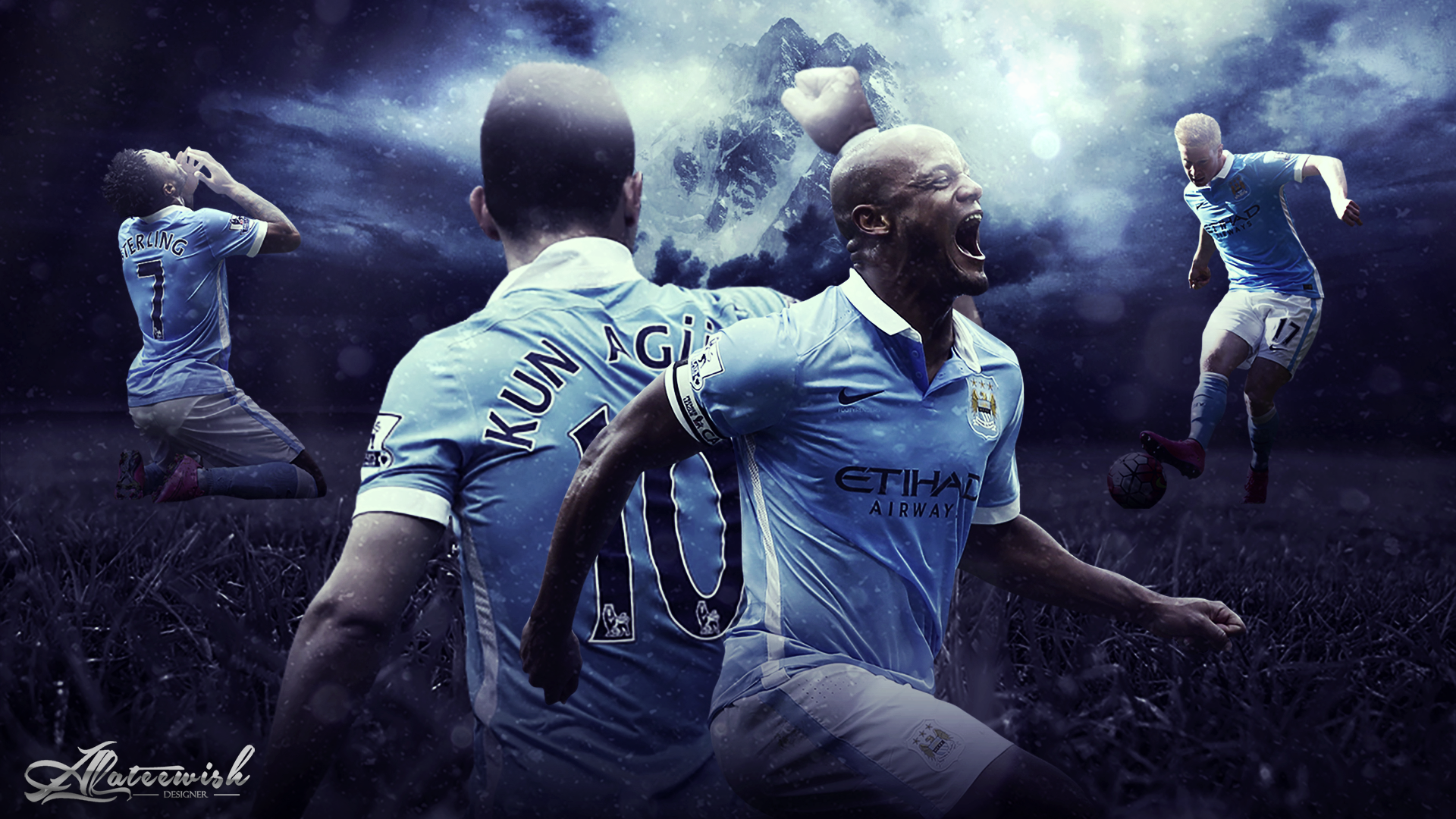 Man City Wallpapers 2015: 1920x1080px Manchester City Background