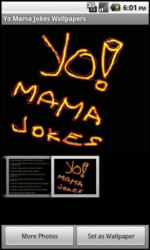View bigger   Yo Mama Jokes Wallpapers for Android screenshot 307x512