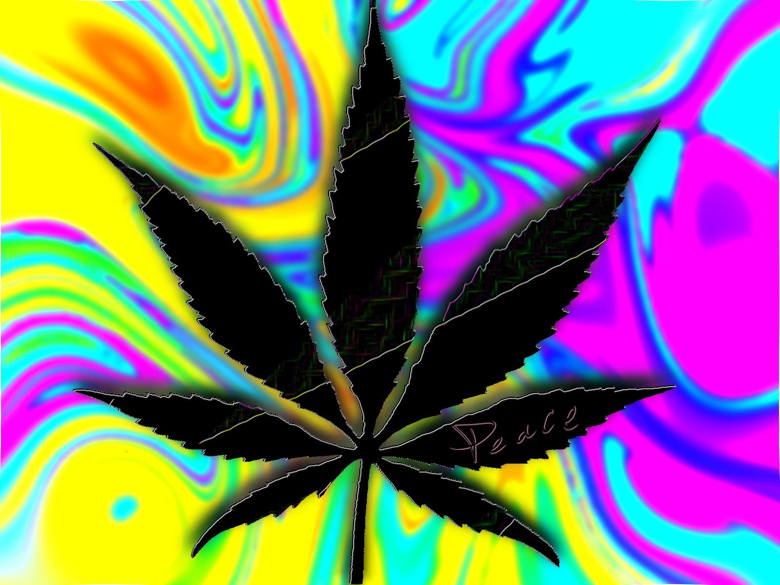Trippy Weed Hd 1600x1200
