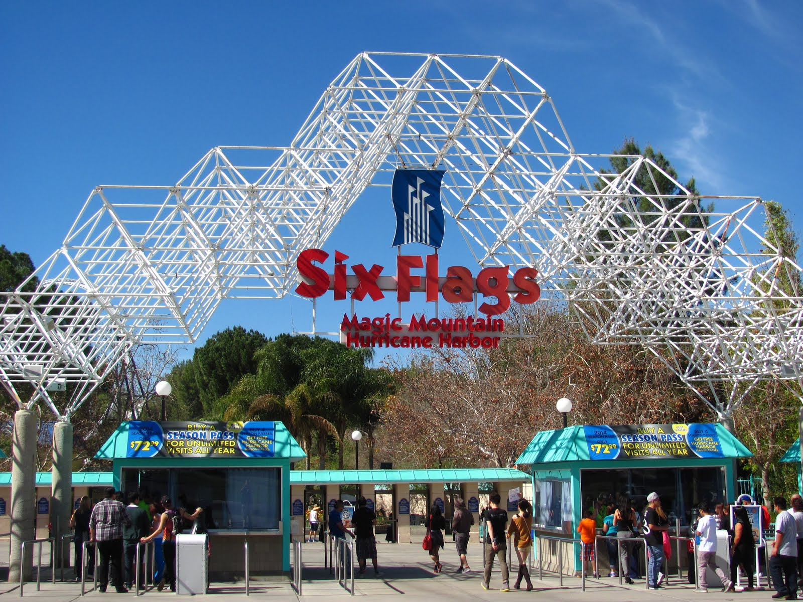 Six Flags Magic Mountain moves to 365 day schedule   Amusement 1600x1200