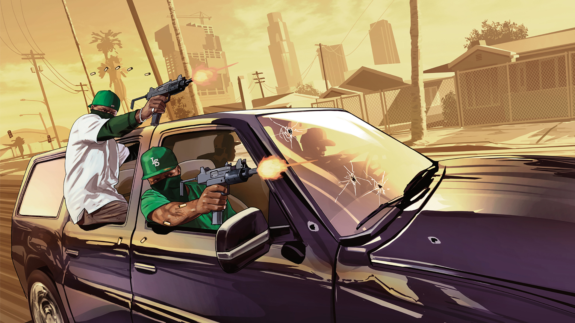Wallpaper gta5 grove street los santos california gang wallpapers 1920x1080