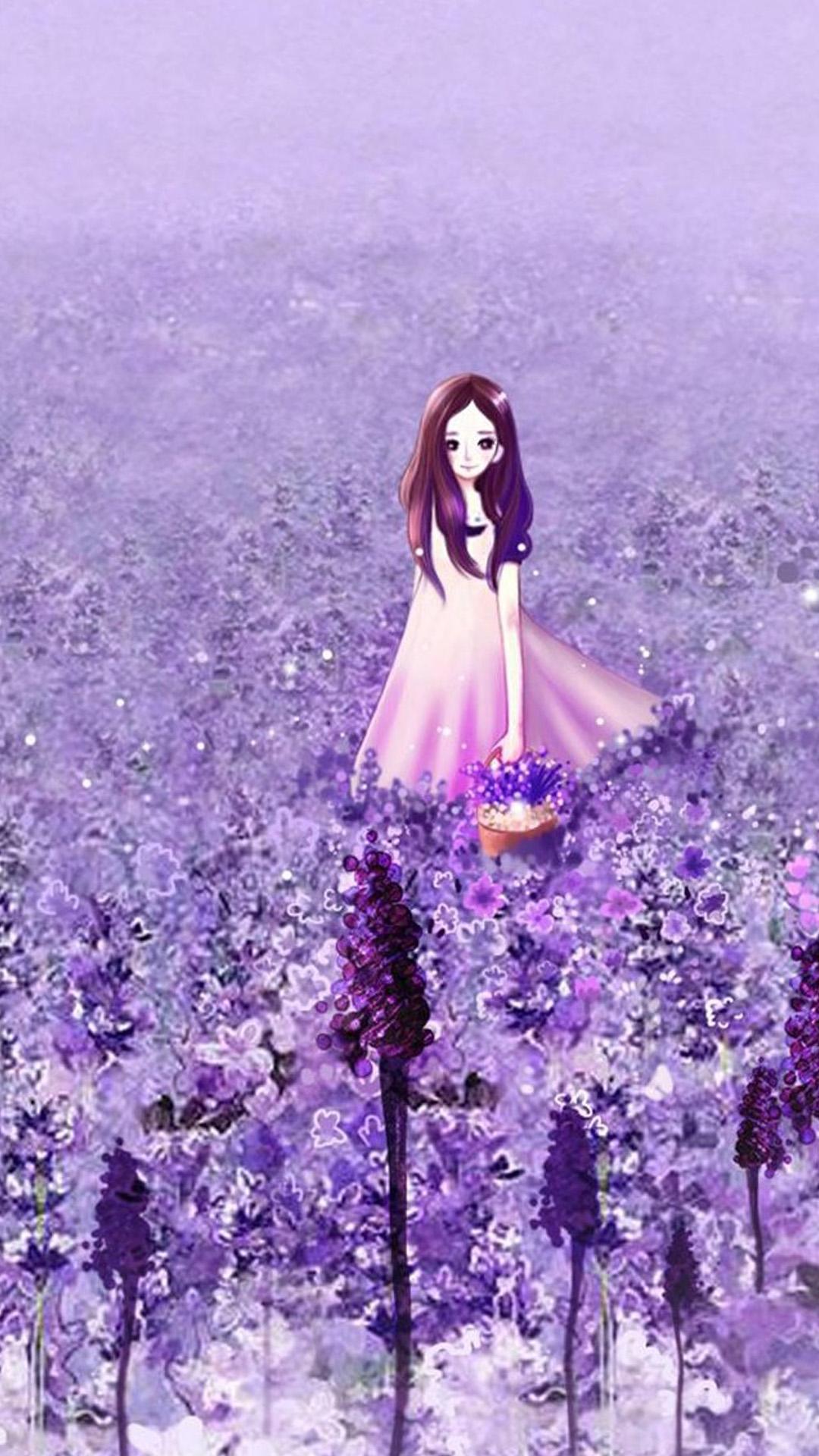 Cute Anime Girl iPhone Wallpaper - WallpaperSafari