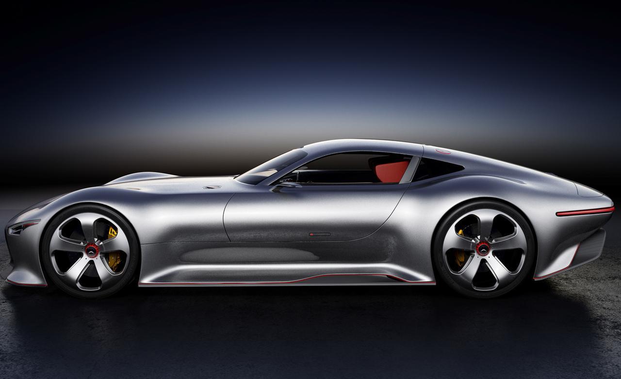 Mercedes Benz AMG Vision Gran Turismo concept photo 1280x782