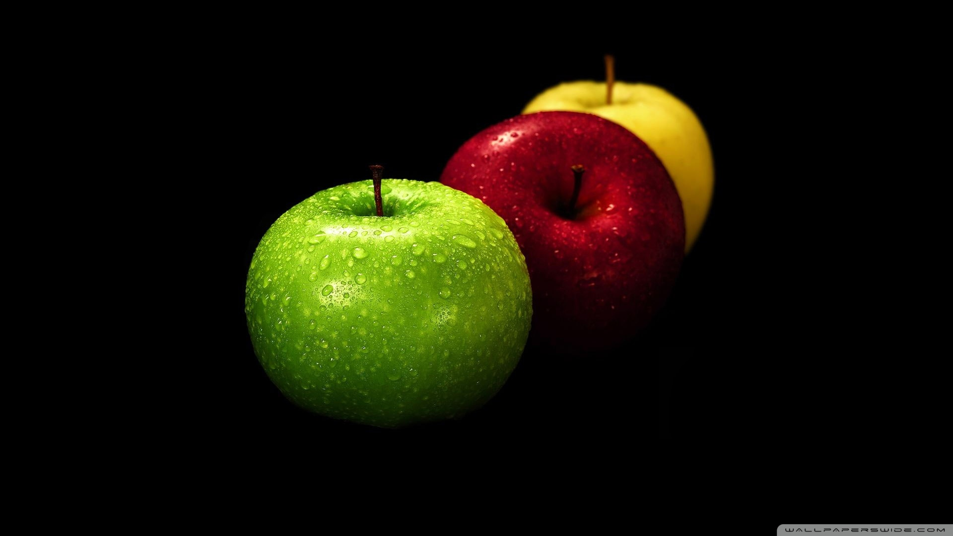 Yellow Red And Green Apples Wallpaper 1920x1080 Yellow Red And 1920x1080