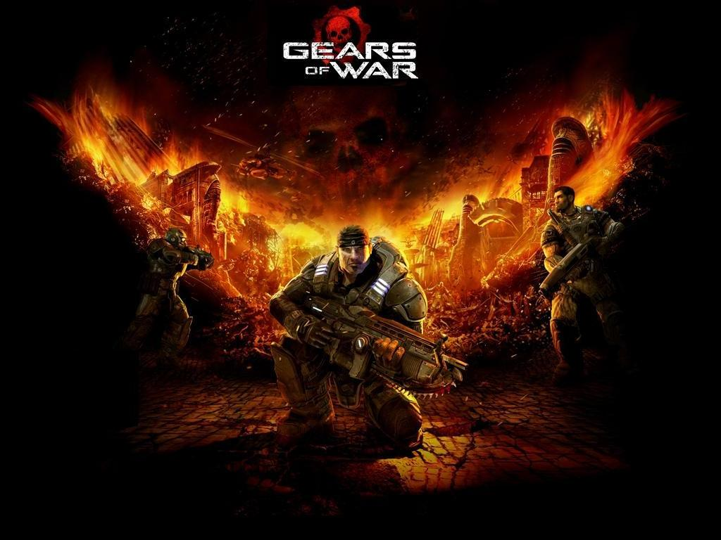 gears of war wallpaper background epic games microsoft xbox 360 third ...
