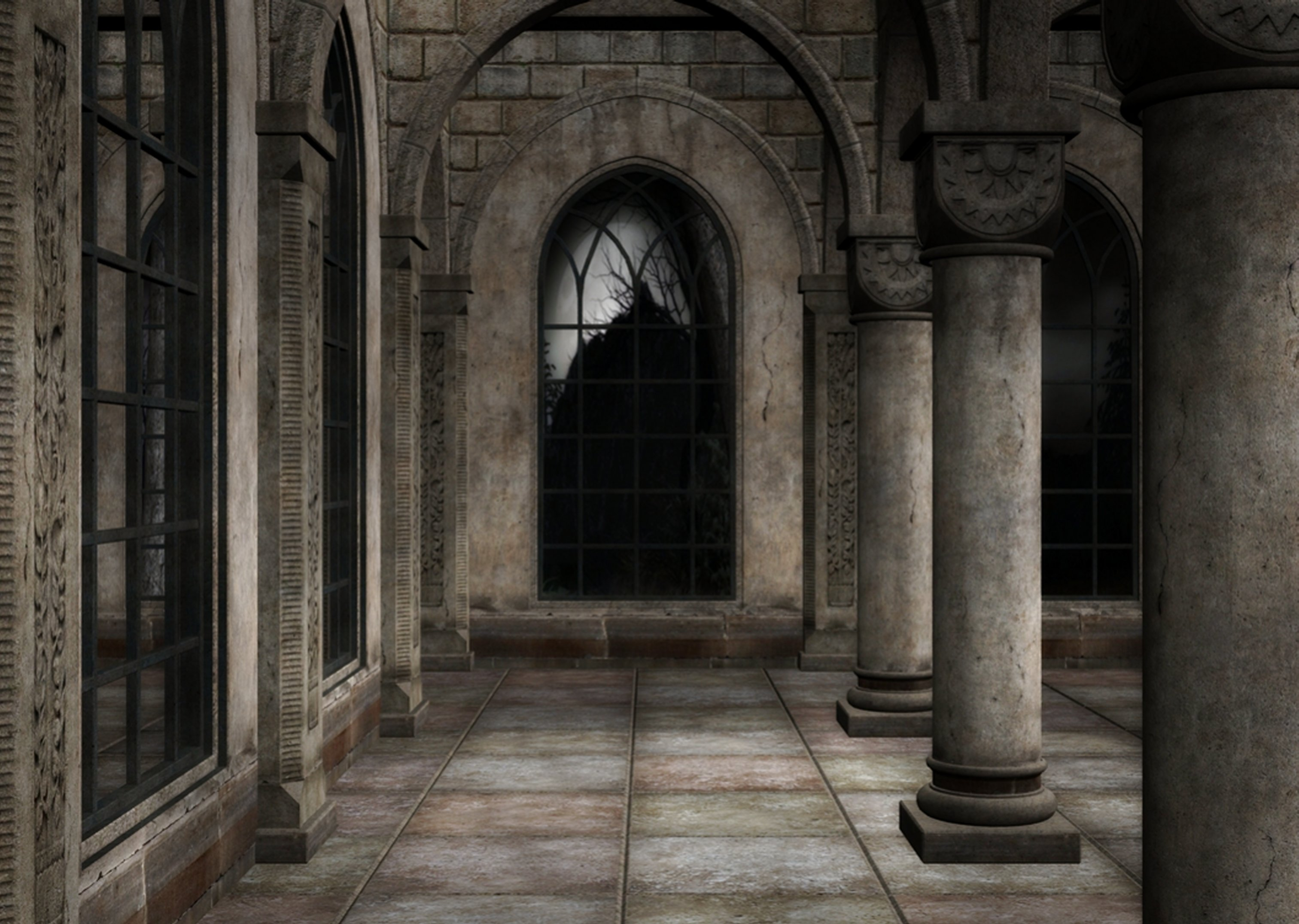 Gothic 36 Wallpaper Gothic 36 Desktop Background   Ecro 3025x2152