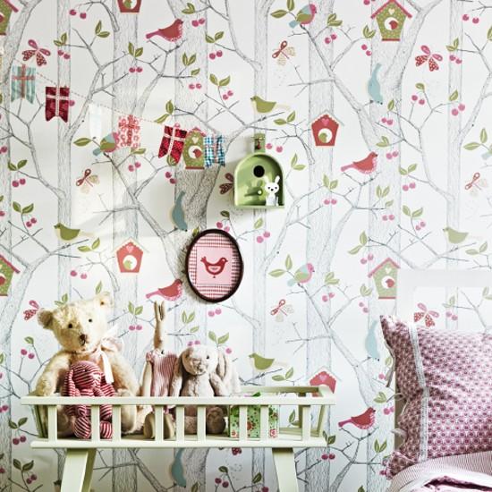 Magical childrens wallpaper designs from Scandi Living Wallpaper 550x550