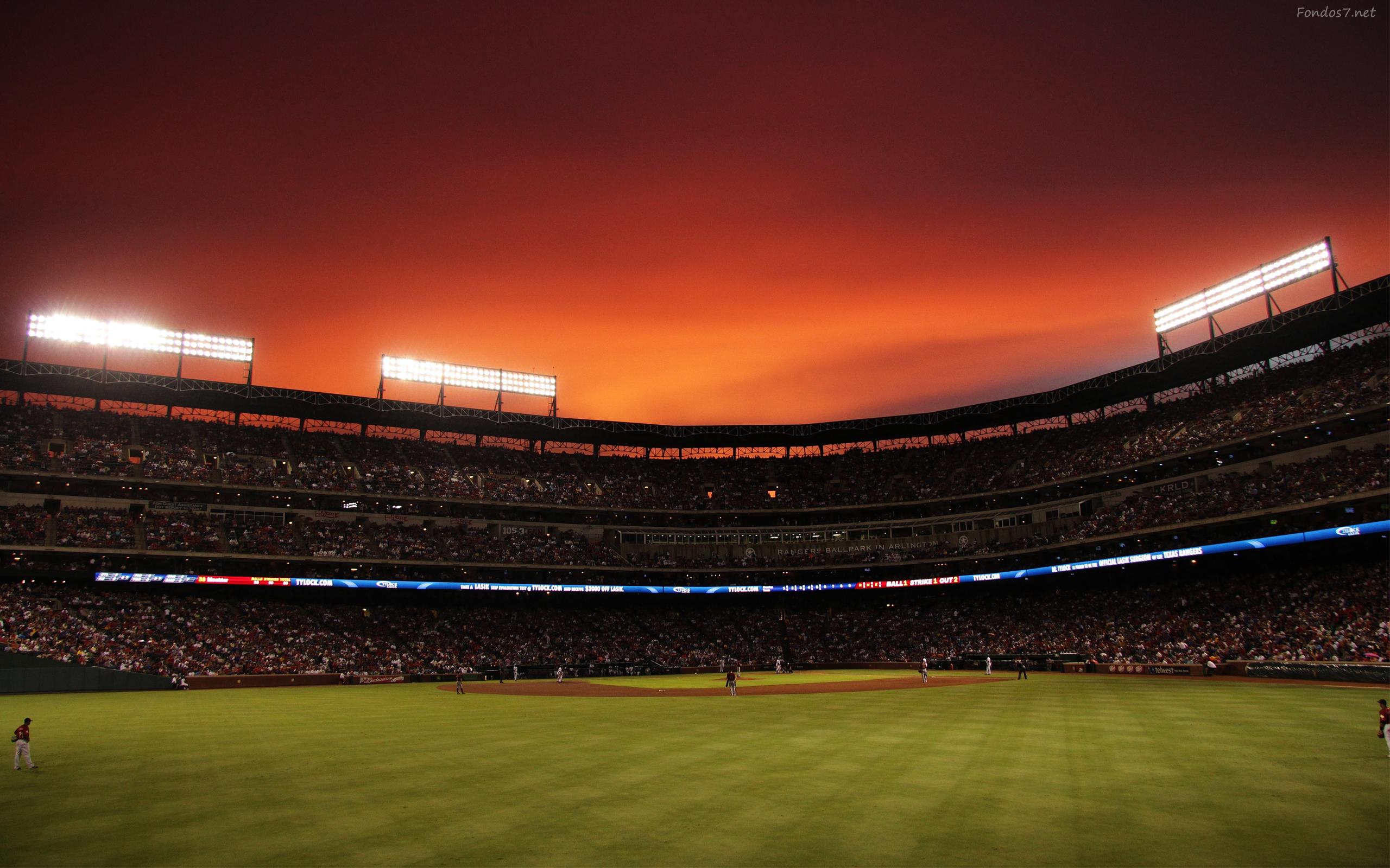 Descargar Fondos de pantalla un estadio de beisbol 3d hd widescreen 2560x1600