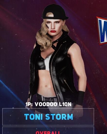 Toni Storm w 2 attires   Xbox One   CAWsws Forum 440x553