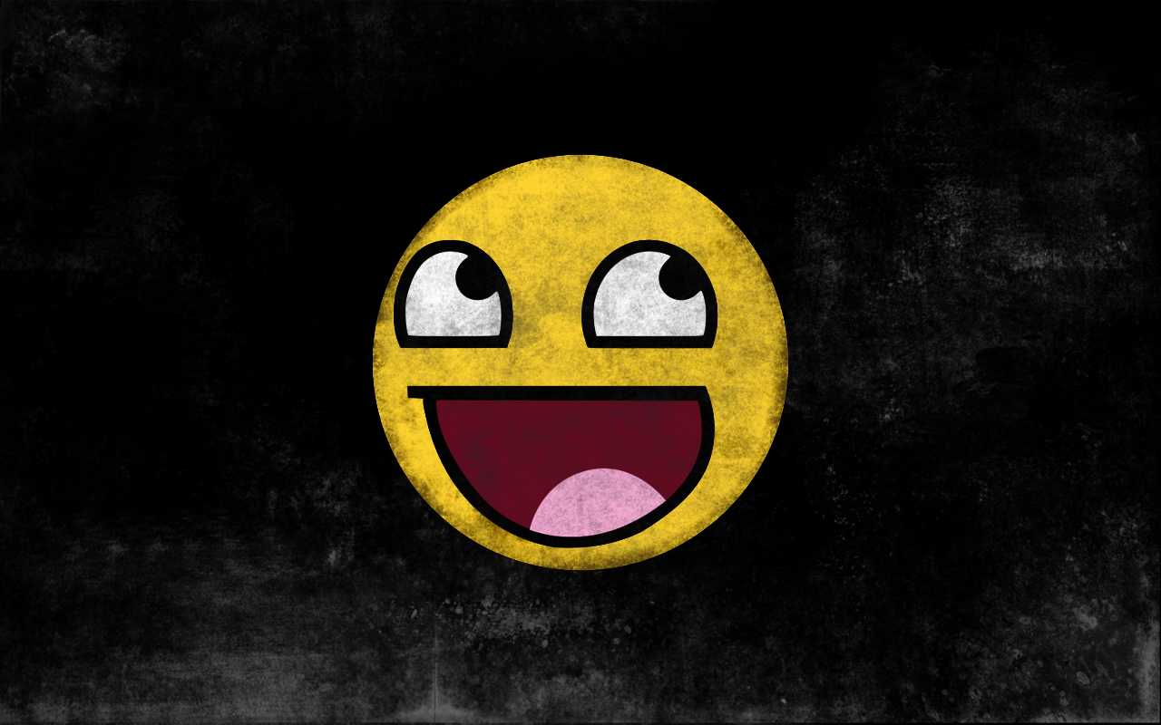 Smiley Face Blue Hd Wallpapers Desktop Background: Epic Face Wallpaper HD