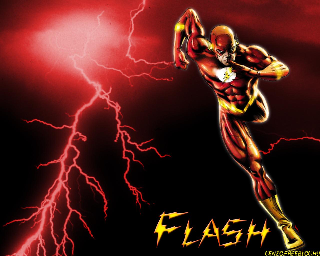 Flash wallpaper by genzouniversejpg 1280x1024