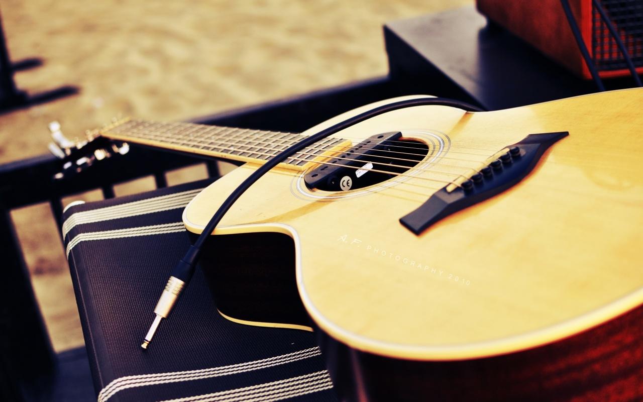 Acoustic Guitar Wallpaper High Resolution Wallpapersafari