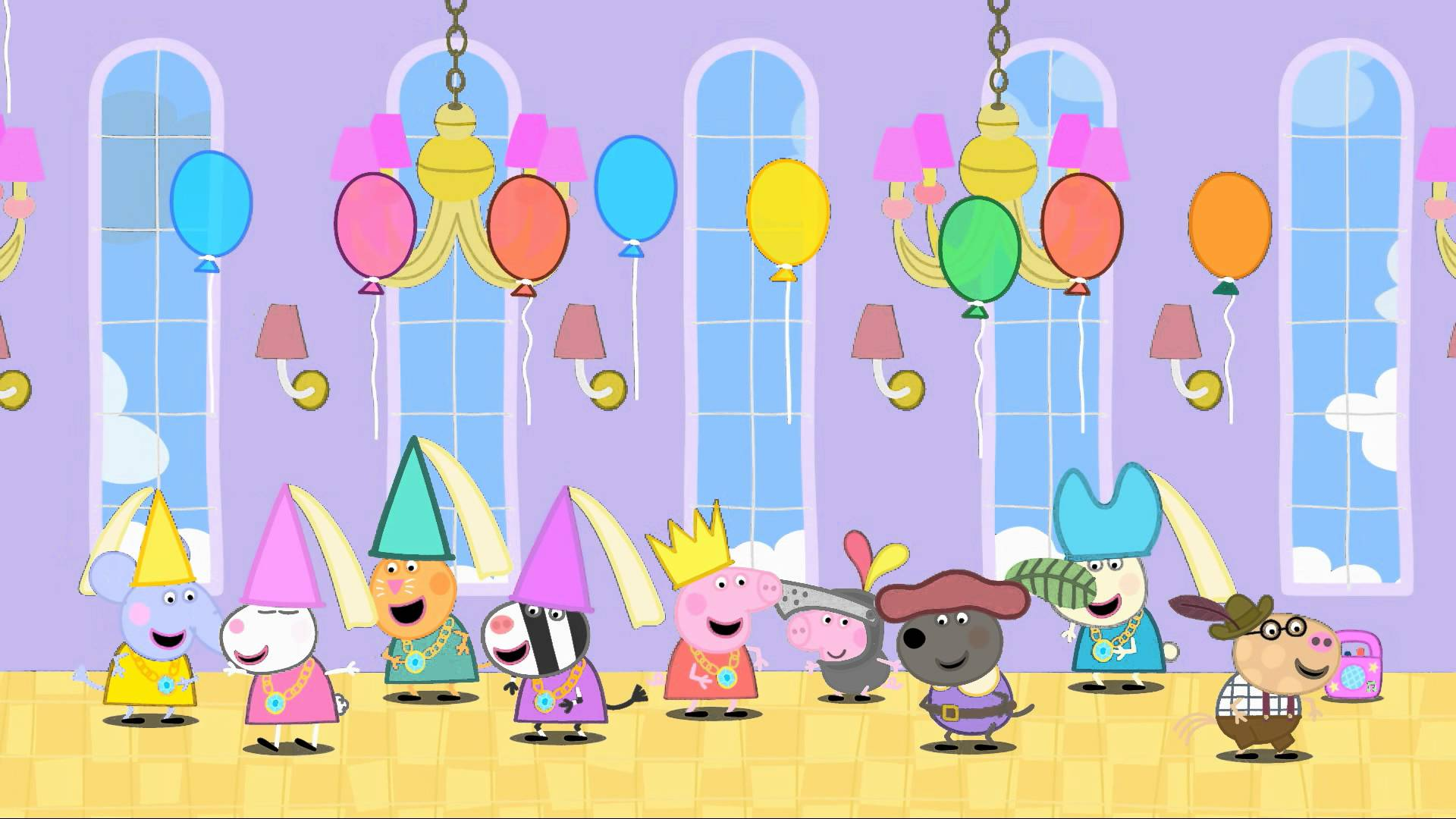 Peppa Pig Video Widescreen HD Wallpaper   Imgur