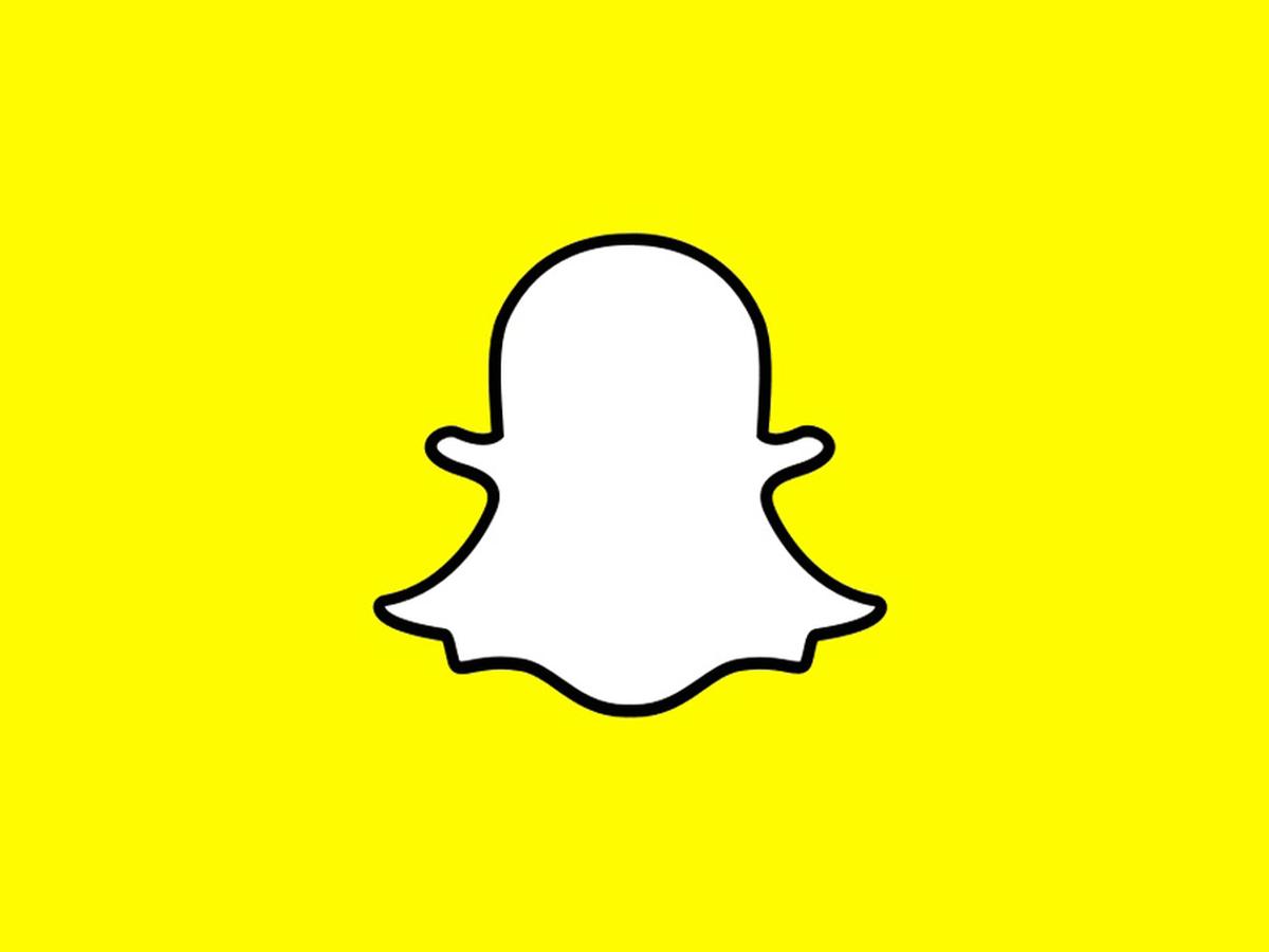 Snapchat Thumb Logo Yellow Background 1200x900