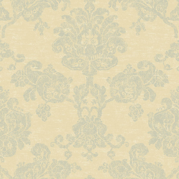 Beige and Grey Hand Block Damask Wallpaper   Wall Sticker Outlet 600x600
