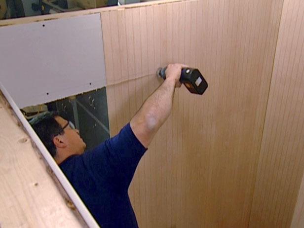 Download image How To Install Beadboard Paneling And Vinyl Floor Tiles 616x462