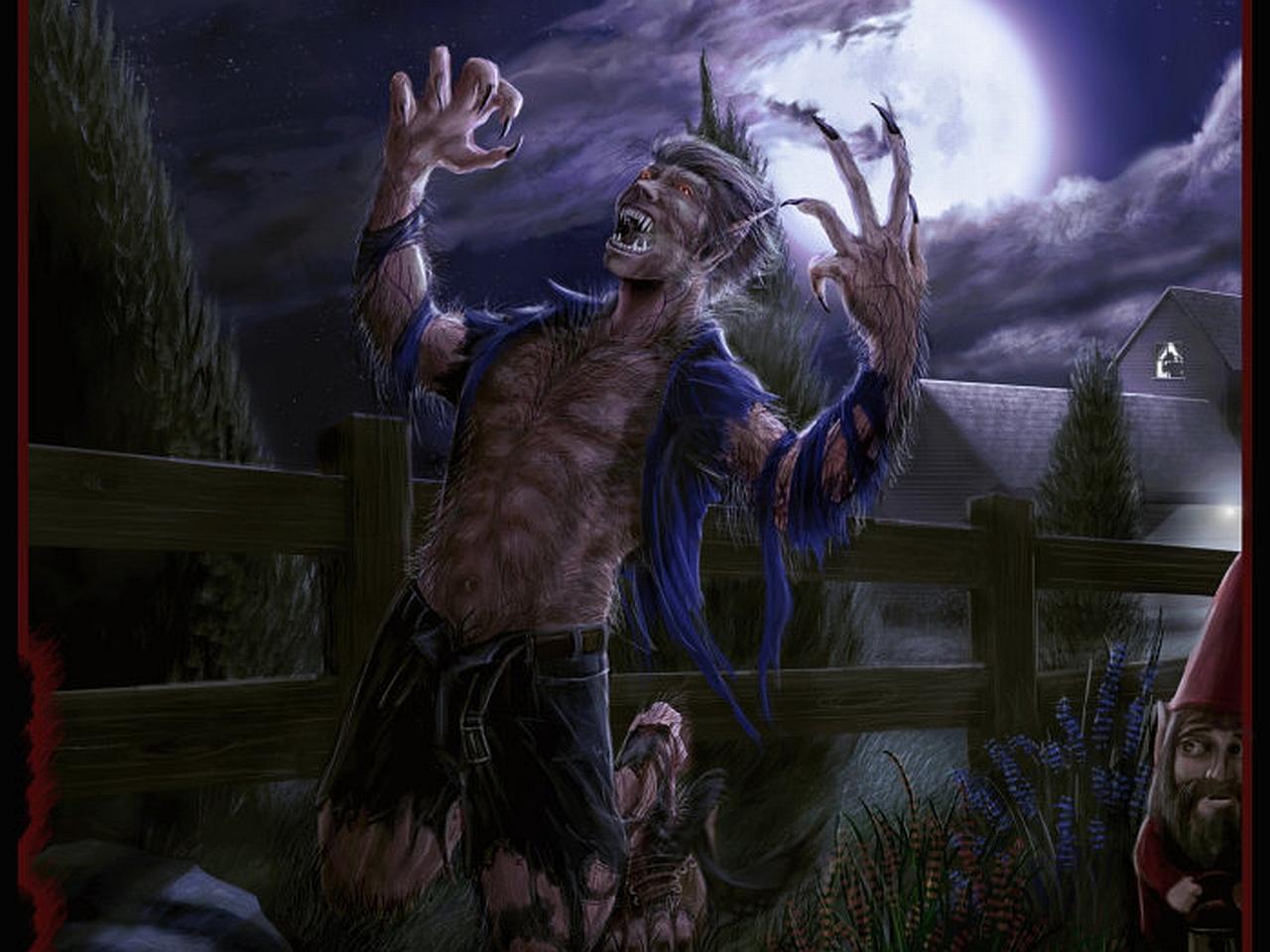 Werewolf Wallpapers For Halloween 1280x960
