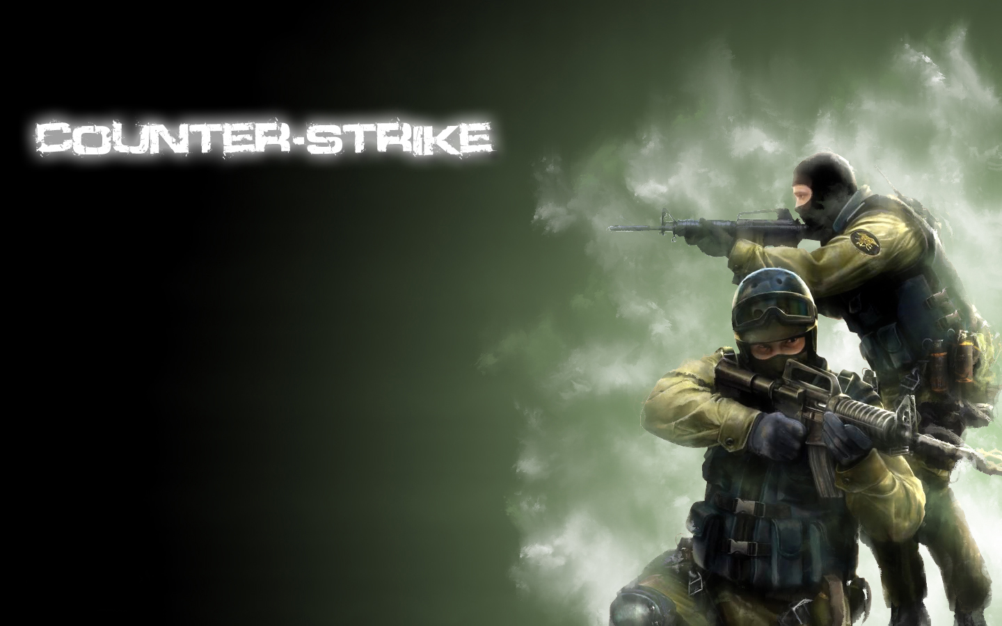 Cs Go Counter Terrorist Logo   wallpaper 1440x900
