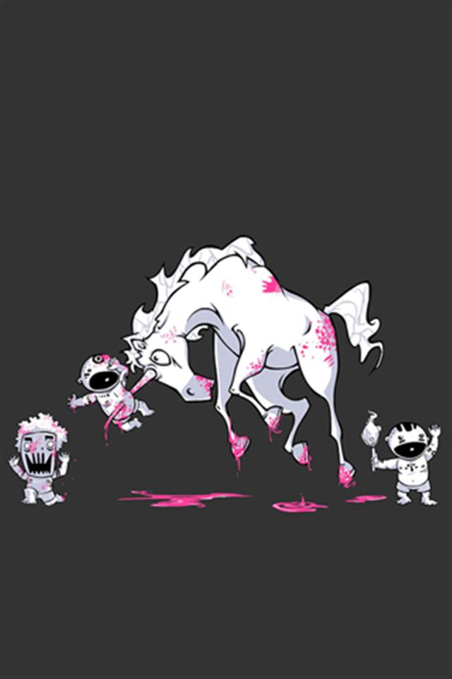 Funny Unicorn Wallpaper Wallpapersafari