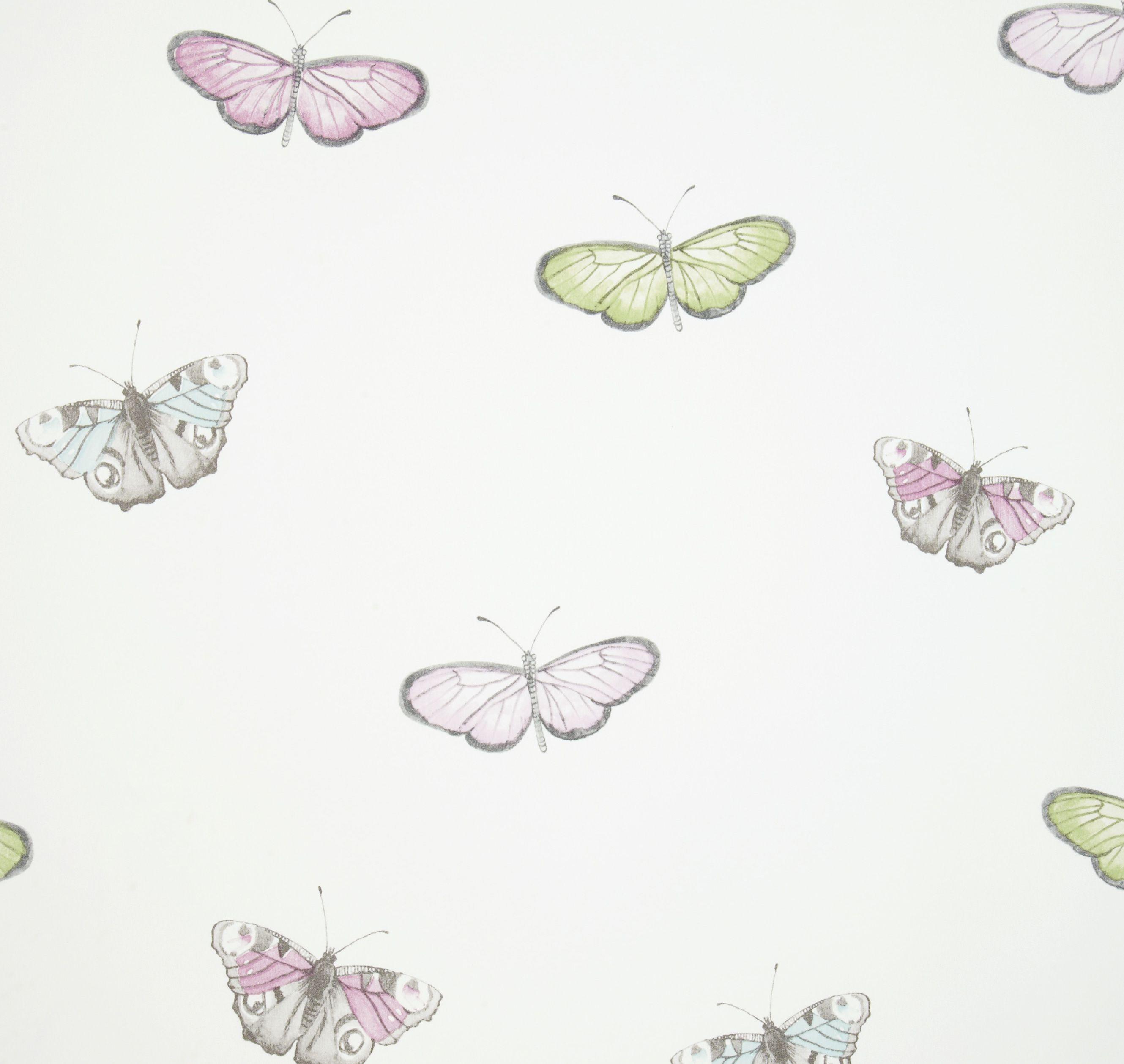 iliv Butterfly Vintage Wallpaper   Pastel 2659x2516