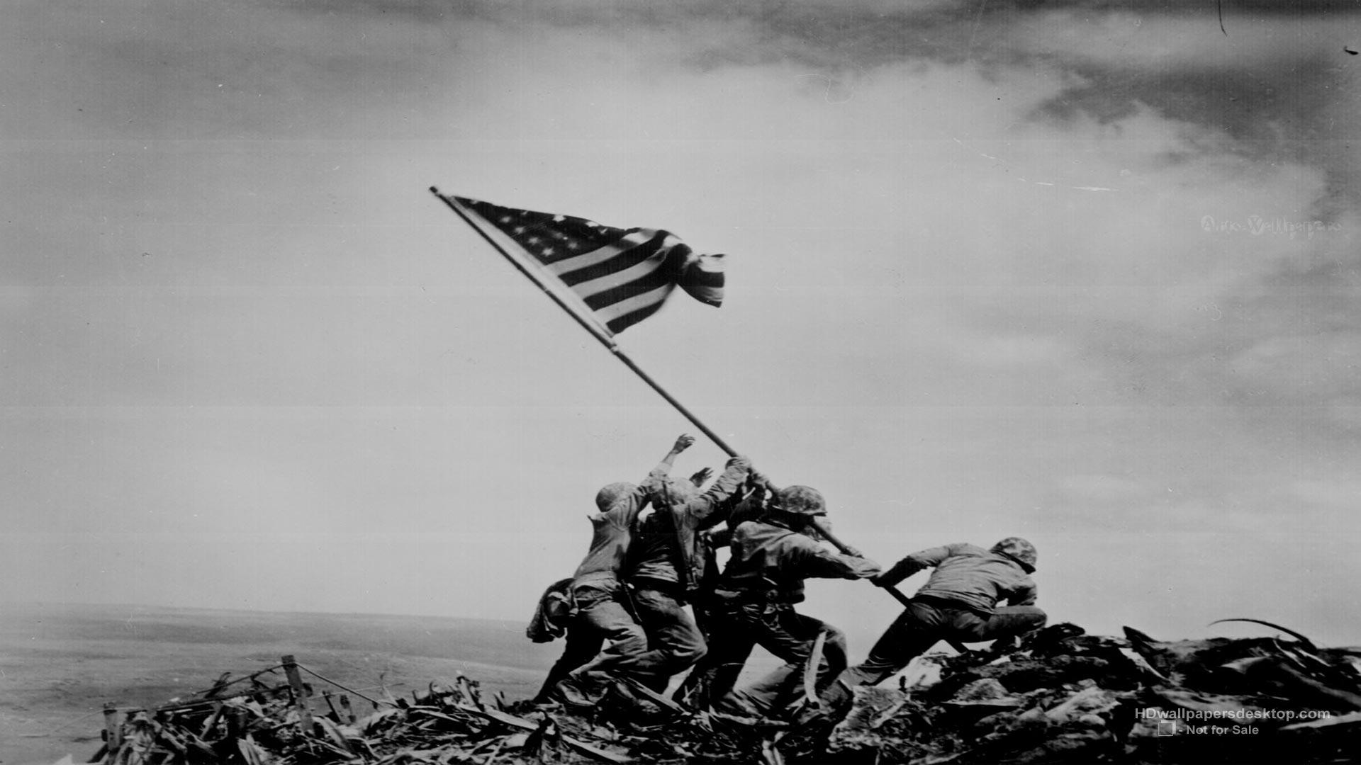 Free download Iwo Jima Flag Raising