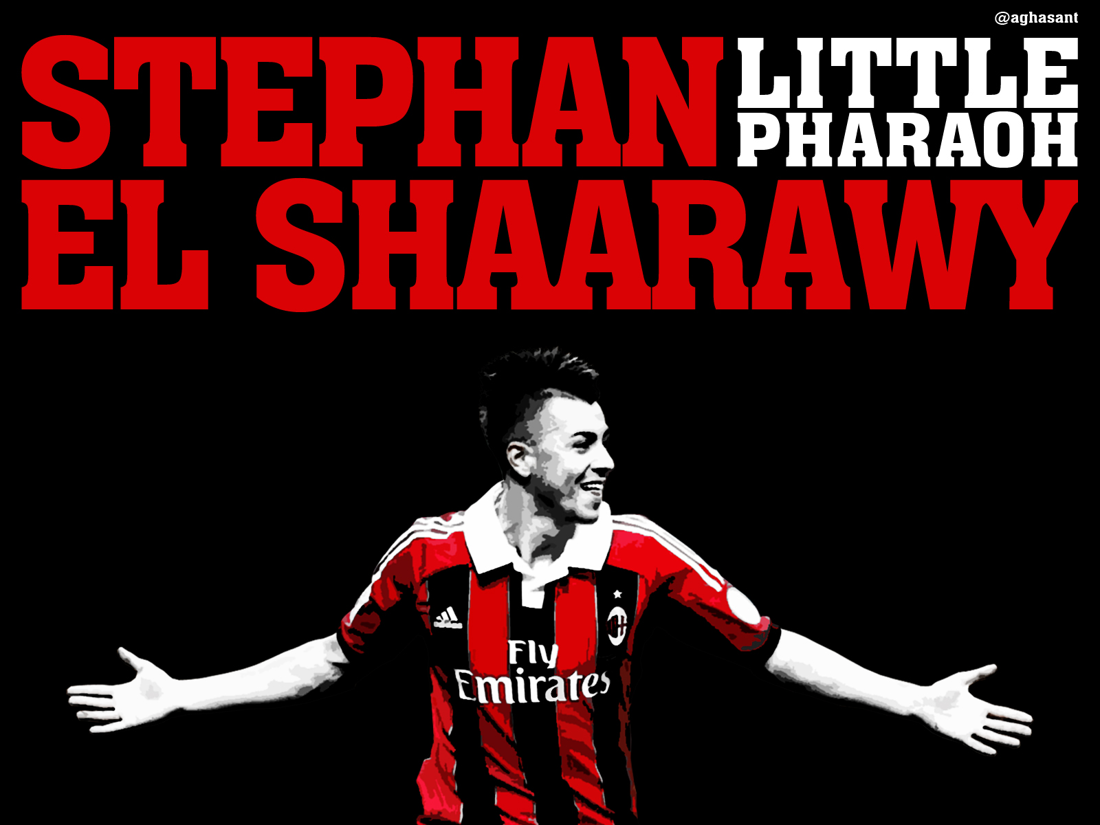 8589130481537 el shaarawy little pharaoh ac milan wallpaper hdjpg 1600x1200