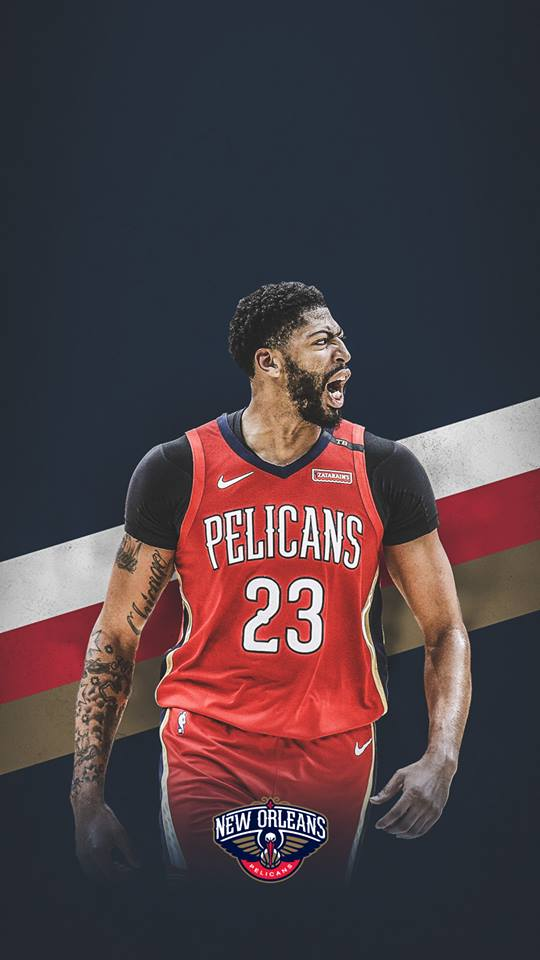 New Anthony Davis wallpaper   New Orleans Pelicans Facebook 540x960