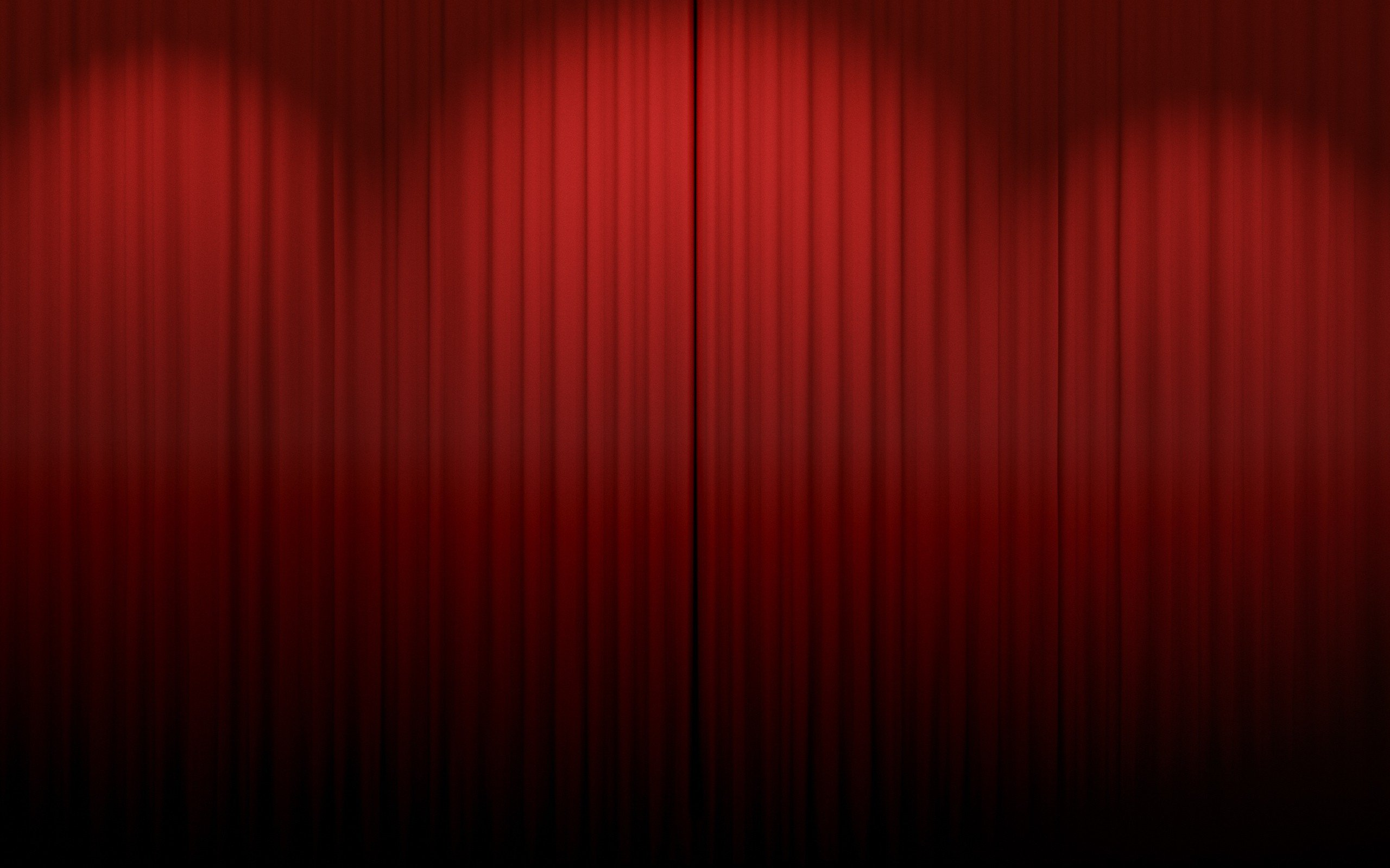 Red curtains stage - Red Curtains Wallpaper 2560x1600 Red Curtains Theatre Scenario Html