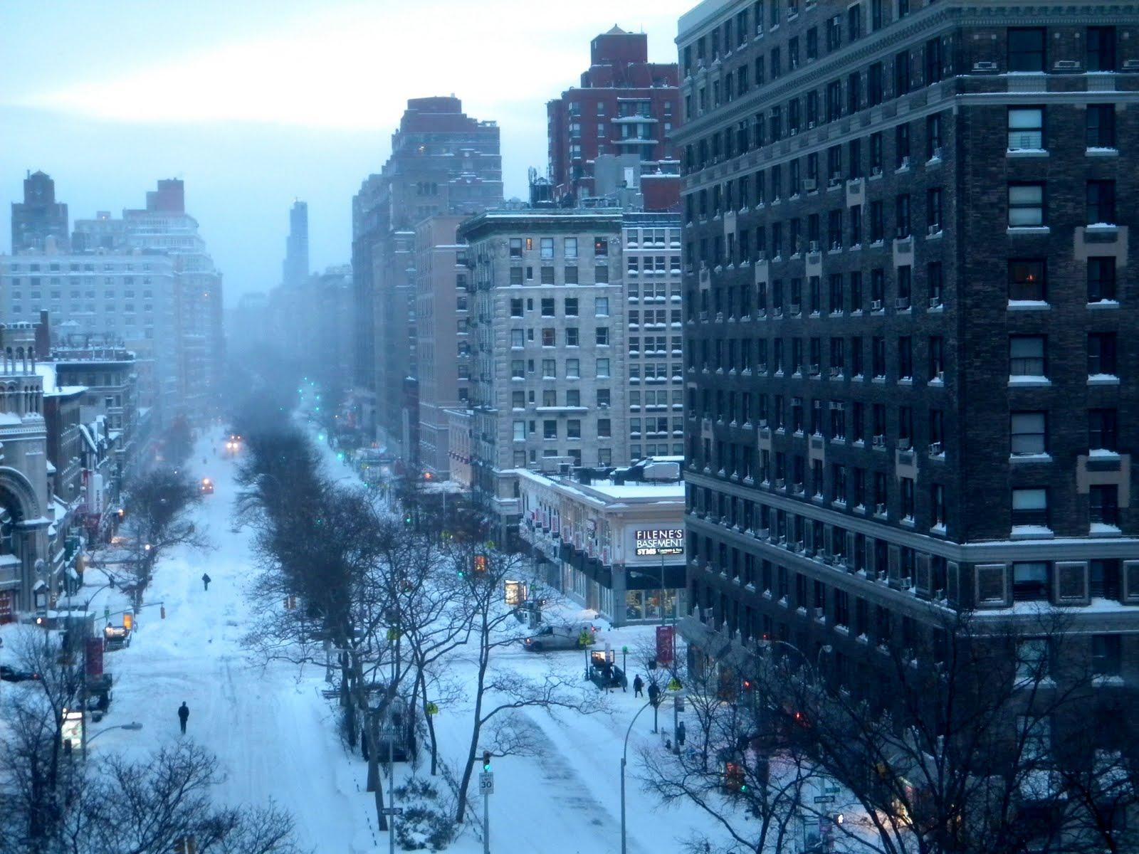 Winter in new york city wallpaper Wallpaper Wide HD 1600x1200