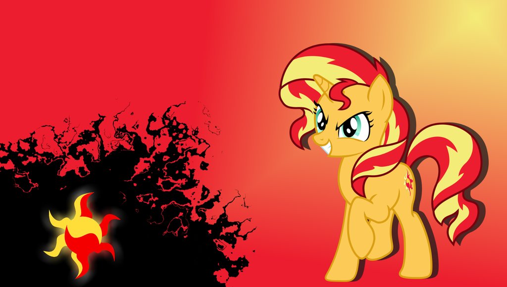 Free Download Sunset Shimmer Wallpaper By Stratolicious