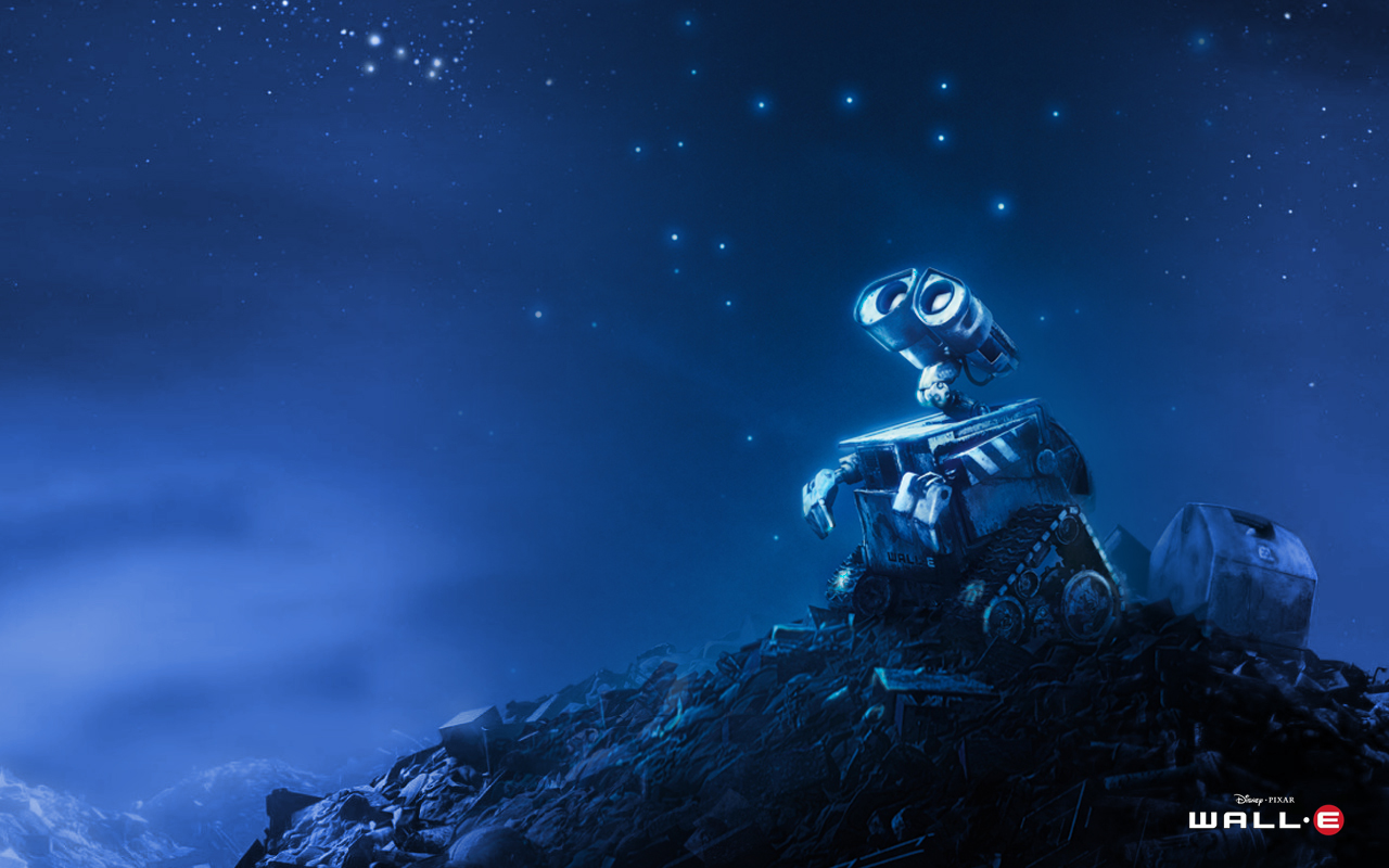 Wallpaper Wall E 1280x800