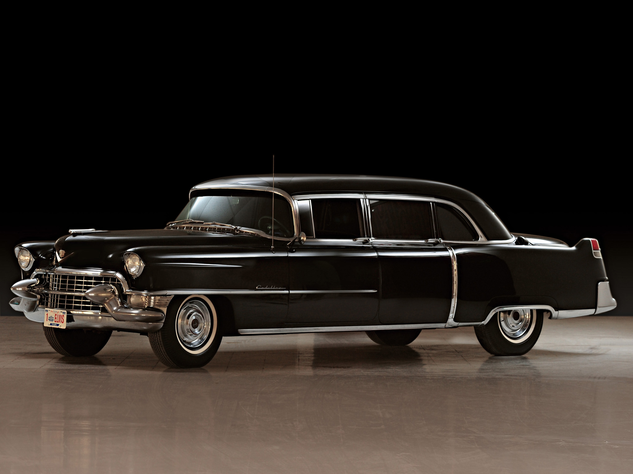Desktop Wallpapers Cadillac Fleetwood Seventy Five Limousine 1955 2048x1536
