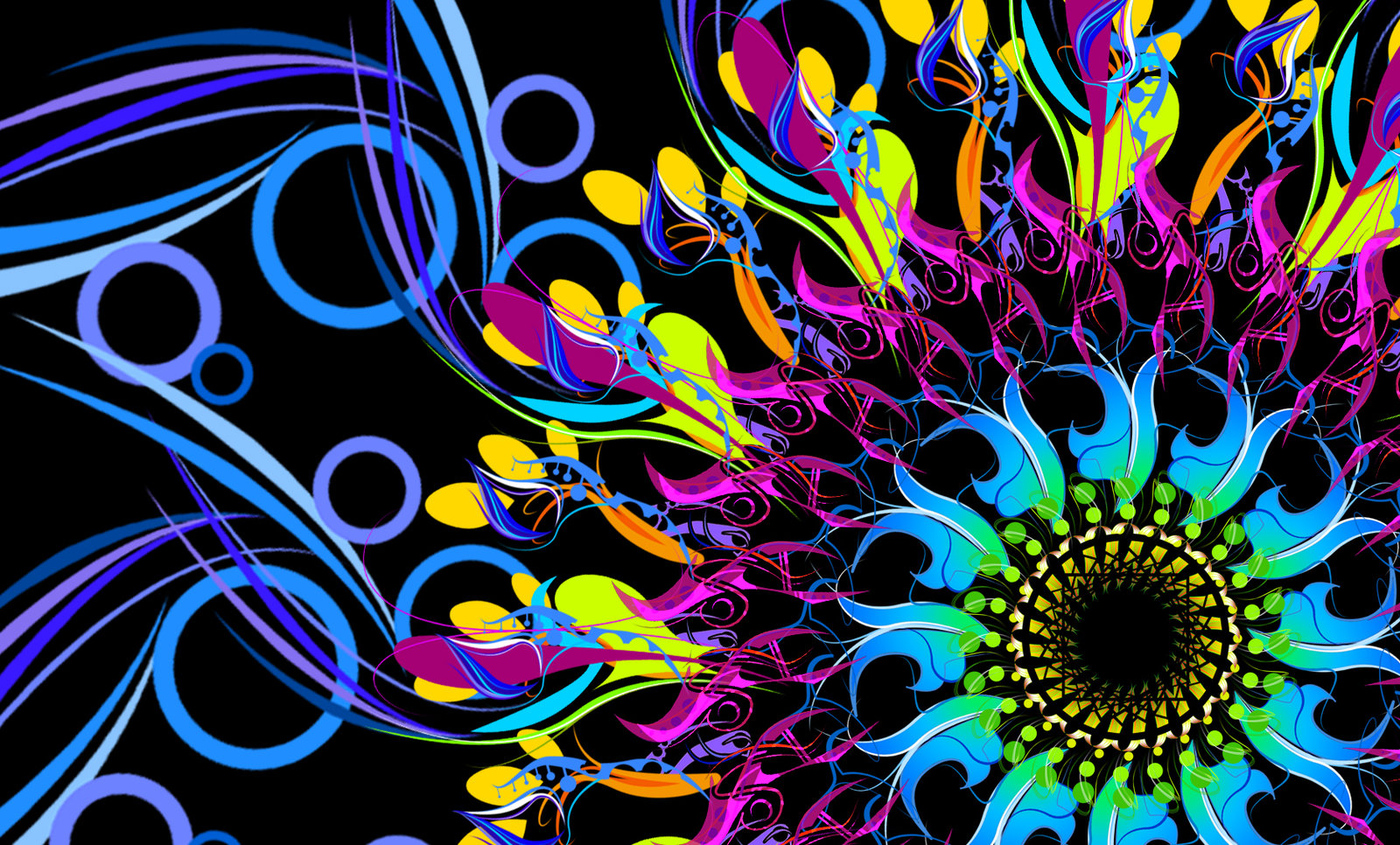 Neon Wallpapers for Desktop Background - WallpaperSafari