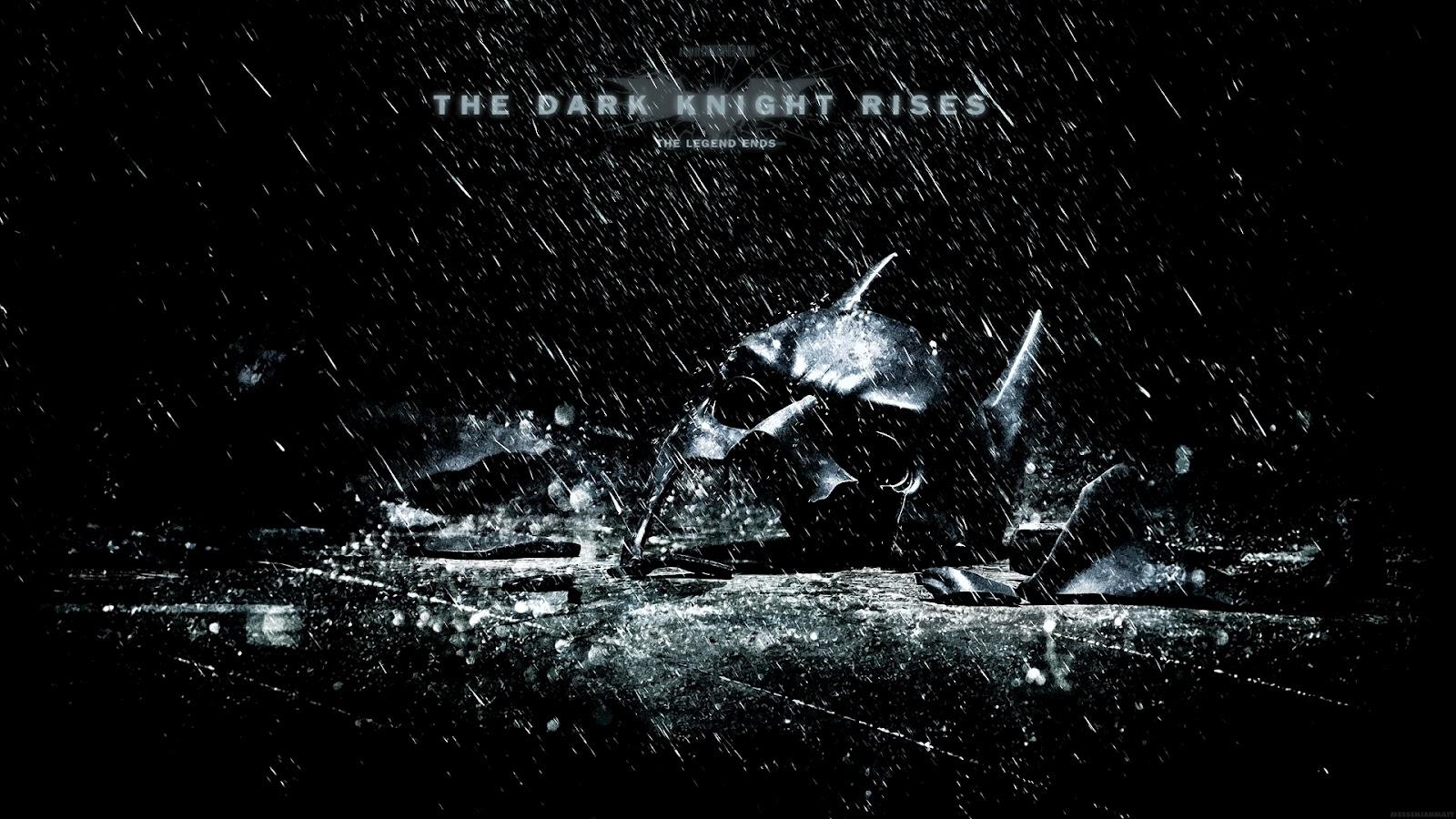 Rendered Bits The Dark Knight Rises Movie Wallpaper 1600x900