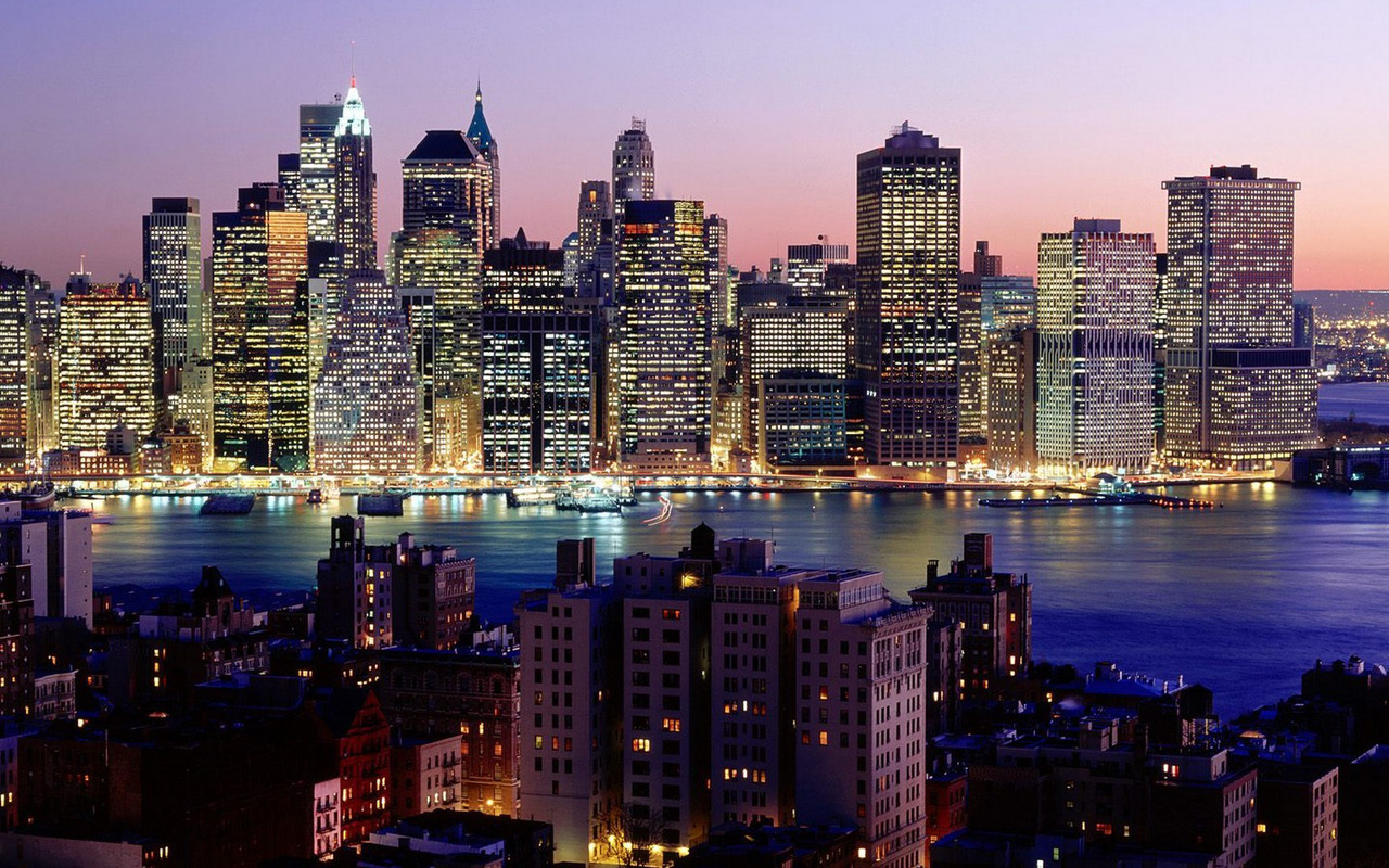 New York skyline wallpaper 2542 1280x800