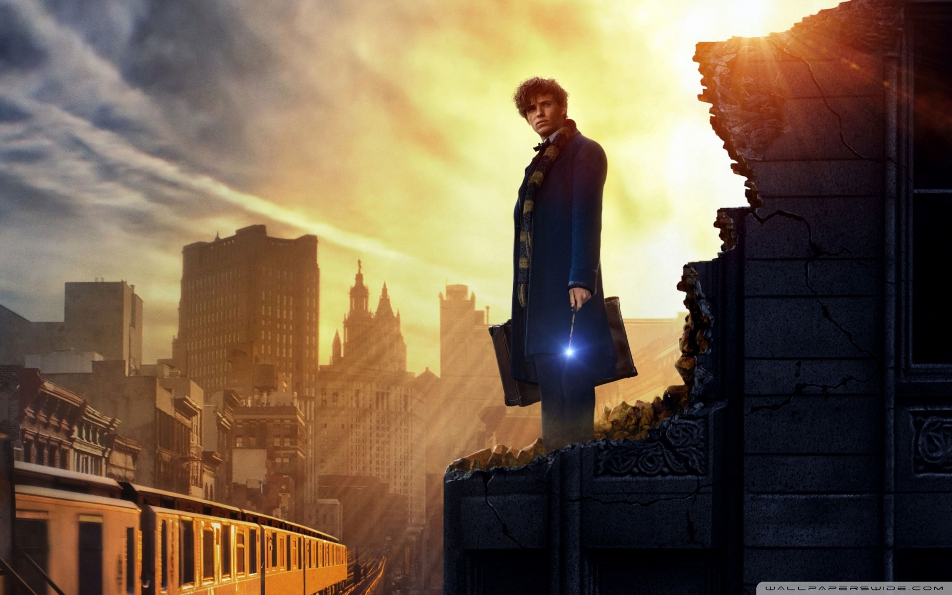 Fantastic Beasts and Where to Find Them 4K HD Desktop Wallpaper 1920x1200