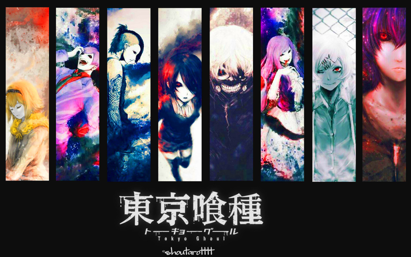 Free download Tokyo Ghoul Characters Anime Wallpaper