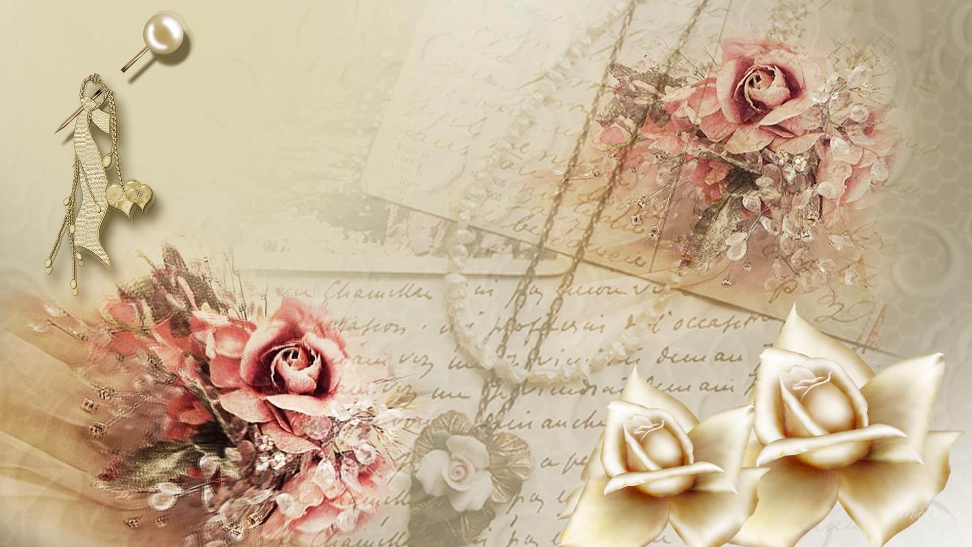 Фон для женских открыток, первым сентября