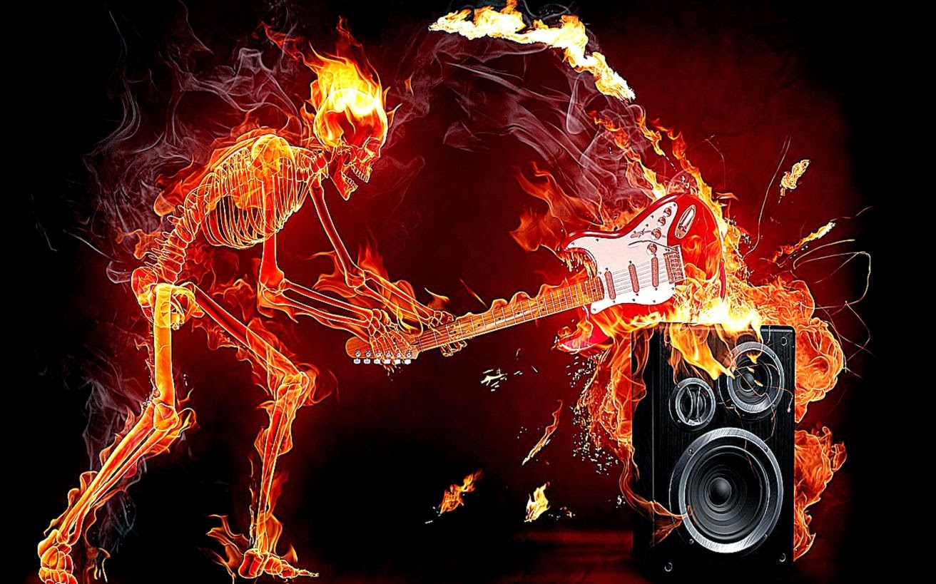 Flaming Skull Wallpapers Cool HD Wallpapers 1312x819