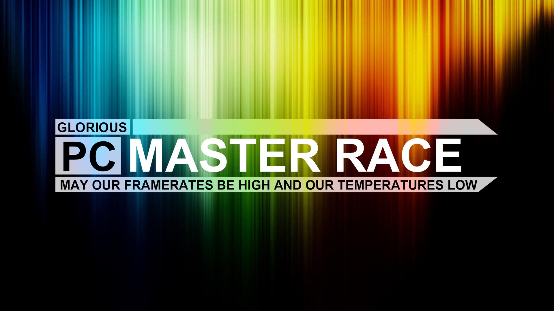 Free Download Glorious Pc Master Race Wallpaper Myconfinedspace