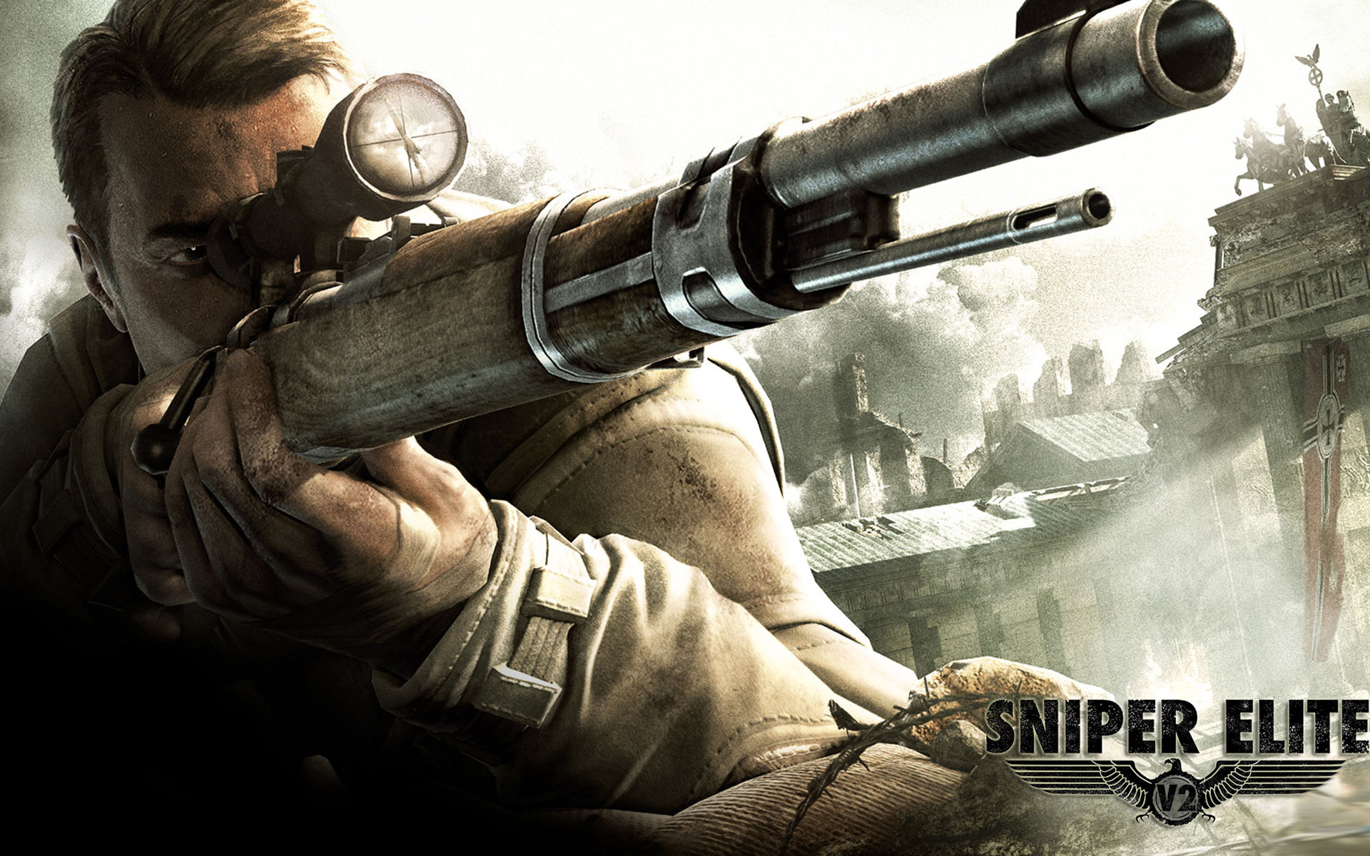 Sniper Elite V2 Wallpaper HD 1920x1200