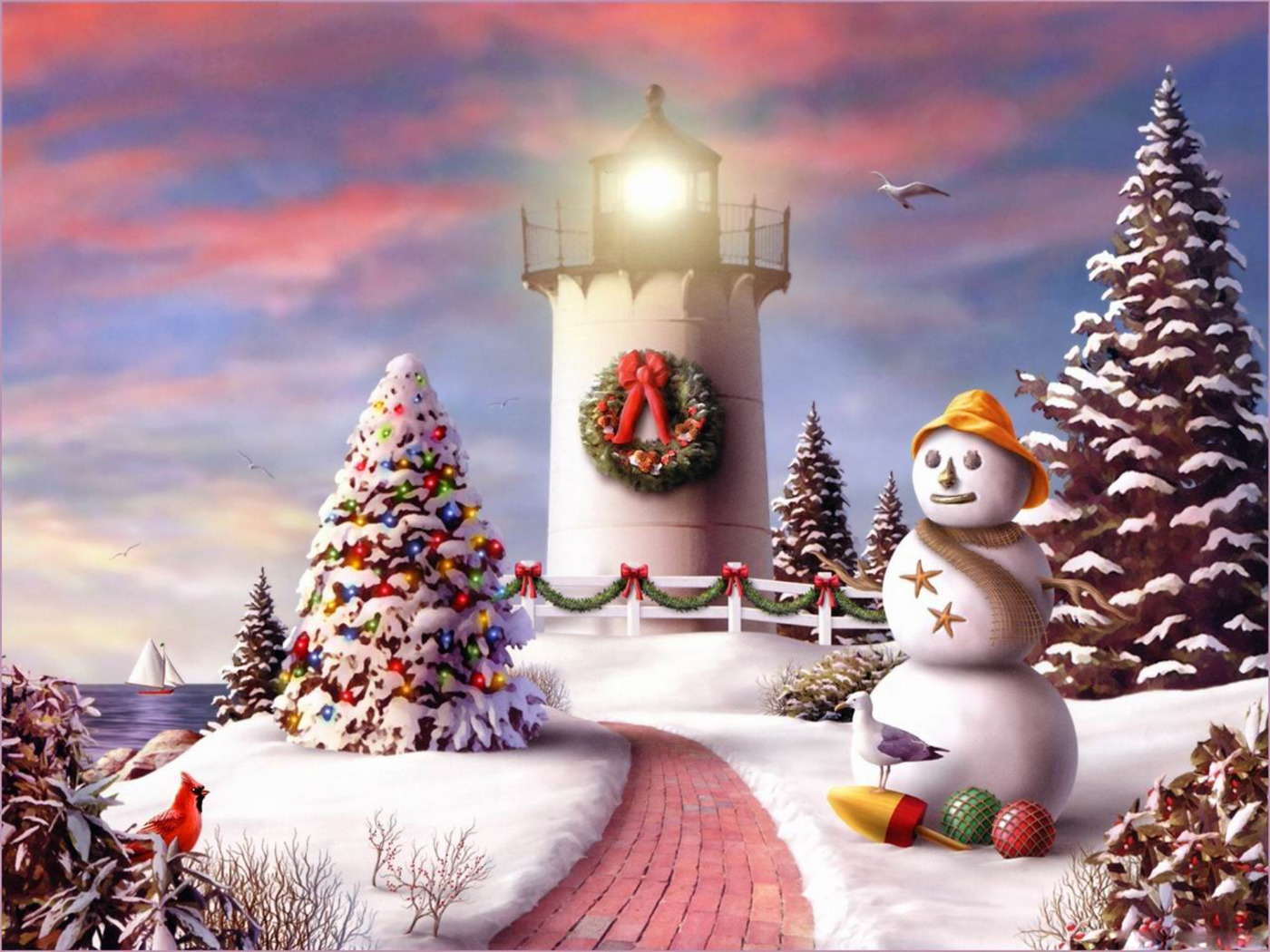 Download Desktop wallpaper 2010 Christmas Wallpapers 1400x1050