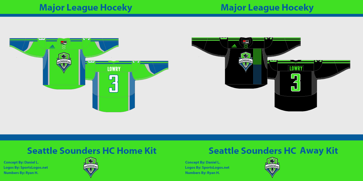 Seattle Sounders Hockey Club : Jersey Concepts Inspired By The Rave ...
