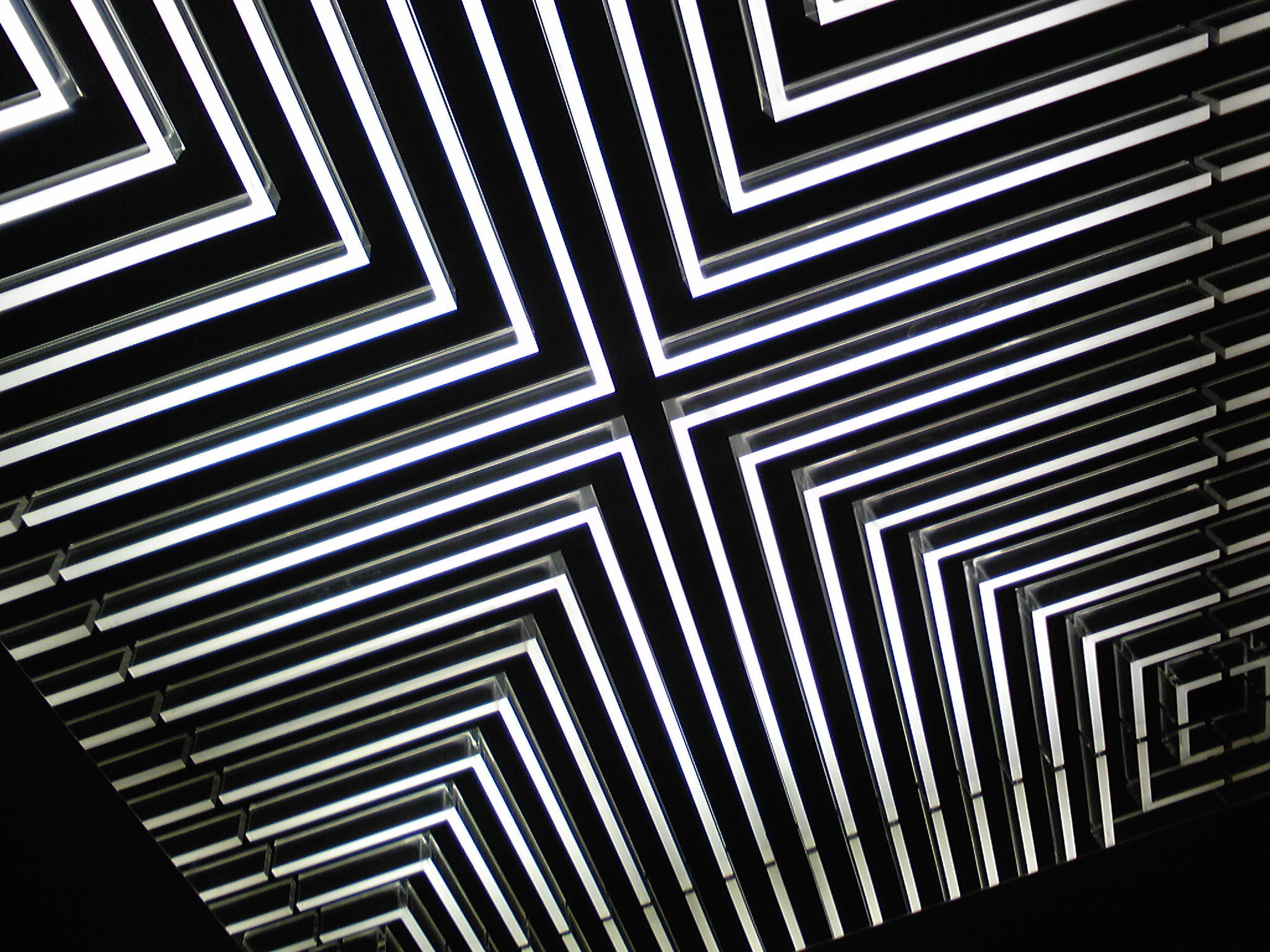 Wallpaper elevator black white geometric wallpapers abstraction 1680x1050